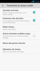 Huawei Ascend G526 - Internet et roaming de données - Désactivation du roaming de données - Étape 6