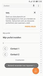 Samsung Galaxy S7 - Android N - Contacten en data - Contacten overzetten via Bluetooth - Stap 10