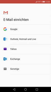 Huawei Mate 9 - E-Mail - 032a. Email wizard - Gmail - Schritt 7