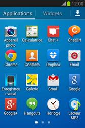 Samsung Galaxy Fame Lite - E-mail - configuration manuelle - Étape 3
