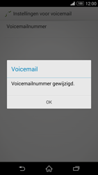 Sony Xperia Z3 Compact - voicemail - handmatig instellen - stap 9