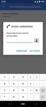 Sony Xperia 10 - Anrufe - Rufumleitungen setzen und löschen - Schritt 10