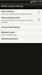 HTC One S - Internet and data roaming - Disabling data roaming - Step 7