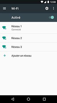 Motorola Moto E4 Plus - Internet et connexion - Accéder au réseau Wi-Fi - Étape 8
