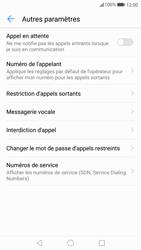 Huawei P10 Lite - Messagerie vocale - Configuration manuelle - Étape 6