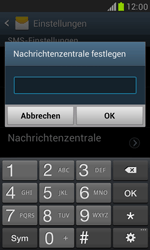 Samsung I8190 Galaxy S3 Mini - SMS - Manuelle Konfiguration - Schritt 5