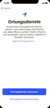 Apple iPhone X - iOS 11 - Persönliche Einstellungen von einem alten iPhone übertragen - 19 / 40