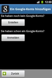 Samsung Galaxy Ace - Apps - Konto anlegen und einrichten - 6 / 22