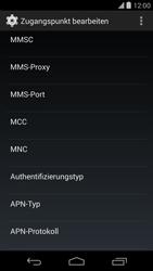 LG D821 Google Nexus 5 - MMS - Manuelle Konfiguration - Schritt 11