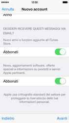 Apple iPhone 5c - iOS 8 - Applicazioni - Configurazione del negozio applicazioni - Fase 18