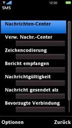 Sony Ericsson U5i Vivaz - SMS - Manuelle Konfiguration - Schritt 6
