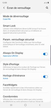 Samsung Galaxy Note10 - Sécurité - activéz le code PIN de l'appareil - Étape 13