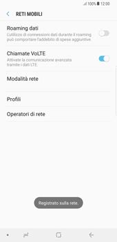 Samsung Galaxy Note 8 - Rete - Selezione manuale della rete - Fase 11