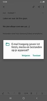 Samsung Galaxy A10 - E-mail - e-mail versturen - Stap 13