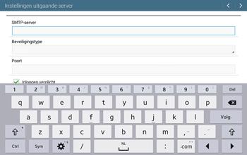 Samsung T535 Galaxy Tab 4 10-1 - E-mail - Account instellen (POP3 met SMTP-verificatie) - Stap 12