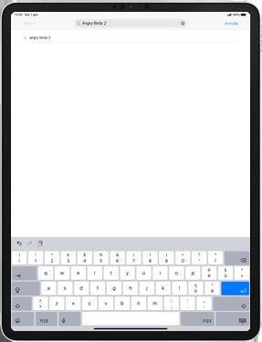 Apple iPad Pro 9.7 - iPadOS 13 - Applicazioni - Installazione delle applicazioni - Fase 11