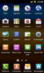 Samsung I9100 Galaxy S II - WiFi - Handmatig instellen - Stap 3