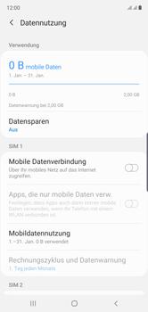 Samsung Galaxy Note 10 - Internet und Datenroaming - Prüfen, ob Datenkonnektivität aktiviert ist - Schritt 6