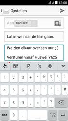 Huawei Y625 - E-mail - e-mail versturen - Stap 9