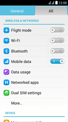 Huawei Y625 - MMS - Manual configuration - Step 3