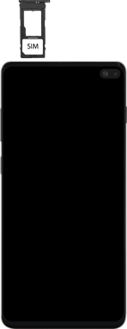Samsung galaxy-s10-plus-dual-sim-sm-g975f - Instellingen aanpassen - SIM-Kaart plaatsen - Stap 4