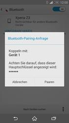 Sony D6603 Xperia Z3 - Bluetooth - Geräte koppeln - Schritt 9