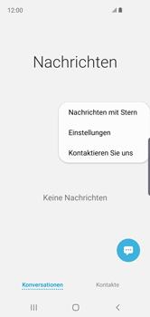 Samsung Galaxy S10e - SMS - Manuelle Konfiguration - 6 / 12