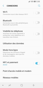 Samsung Galaxy S8 - Android Oreo - MMS - configuration manuelle - Étape 6