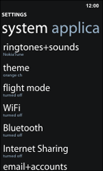 Nokia Lumia 800 / Lumia 900 - Bluetooth - Connecting devices - Step 4