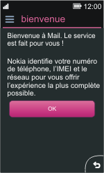 Nokia Asha 311 - E-mail - Configuration manuelle - Étape 4