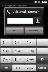 Sony ST27i Xperia Go - Voicemail - Handmatig instellen - Stap 7