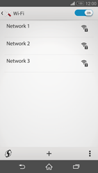 Sony Xperia Z3 - WiFi - WiFi configuration - Step 6
