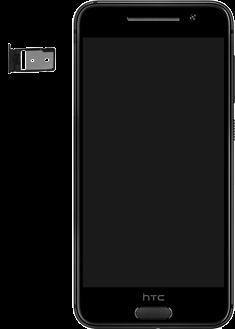 HTC One A9 - SIM-Karte - Einlegen - 2 / 2