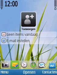 Nokia C5-00 - E-mail - handmatig instellen - Stap 1