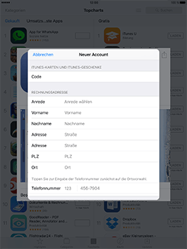 Apple iPad Pro 9.7 inch - Apps - Konto anlegen und einrichten - 28 / 35