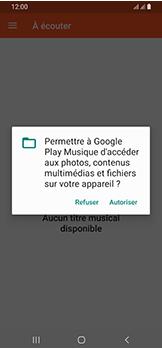 Samsung Galaxy A40 - Photos, vidéos, musique - Ecouter de la musique - Étape 5