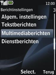 Nokia 2730 classic - MMS - probleem met ontvangen - Stap 7