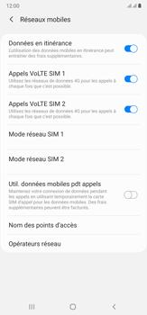 Samsung Galaxy Note 20 Ultra 5G - Internet et roaming de données - Désactivation du roaming de données - Étape 6