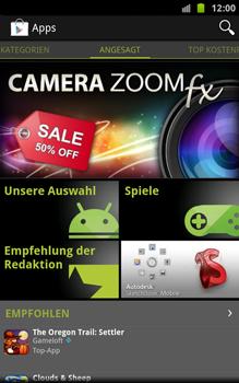 Samsung Galaxy Note - Apps - Konto anlegen und einrichten - 17 / 18
