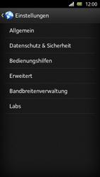Sony Xperia U - Internet und Datenroaming - Manuelle Konfiguration - Schritt 19