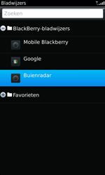 BlackBerry 9860 Torch - Internet - hoe te internetten - Stap 9