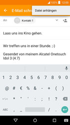 "Alcatel Idol 3 - 4.7"" - E-Mail - E-Mail versenden - 11 / 17"