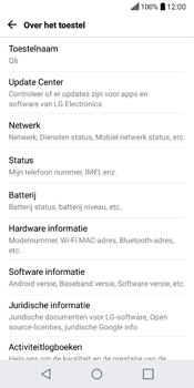 LG Q6 (LG M700n) - Software updaten - Update installeren - Stap 5