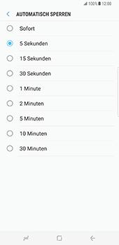Samsung Galaxy S8 Plus - Datenschutz und Sicherheit - Automatischen Screensaver einschalten - 2 / 2