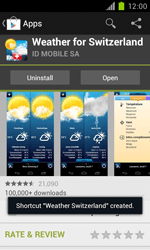 Samsung Galaxy S II - Applications - Installing applications - Step 17