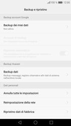 Huawei Huawei P9 - Dispositivo - Ripristino delle impostazioni originali - Fase 7
