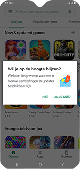 Samsung Galaxy A10 - apps - account instellen - stap 22