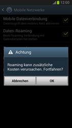 Samsung Galaxy Note 2 - Ausland - Im Ausland surfen – Datenroaming - 9 / 11