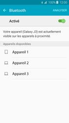 Samsung Samsung Galaxy J3 2016 - Bluetooth - Jumelage d