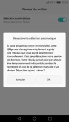 Huawei Huawei P9 Lite - Réseau - Sélection manuelle du réseau - Étape 8